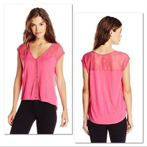 NWT Jessica Simpson Lace Blouse Size Small